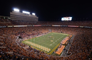 Neyland Stadium by Jack Williams
