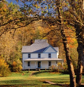 Sam Hobbs Caldwell House at Cataloochee